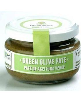 Paté aceituna verdes 120gr - BIOANDALUS