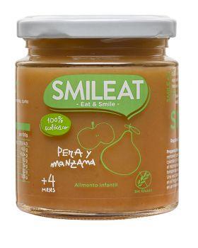 Potito de Pera con Manzana BIO 230gr - SMILEAT