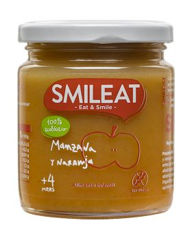 Potito de Manzana y Naranja BIO 230gr-SIMLEAT