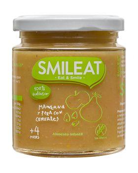 Potito Manzana Pera con cereales BIO 230gr-SMILEAT