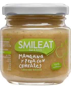Potito Manzana Pera con cereales BIO 130gr-SMILEAT