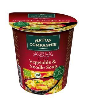 Vaso Instan Asia pasta y Verduras BIO 50 gr