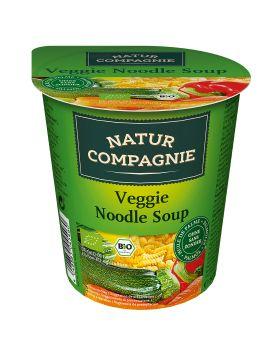 Vaso Instan sopa verduras con tallarines BIO 50 gr