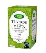 Té Verde con Menta FILTROS 20 uni. BIO
