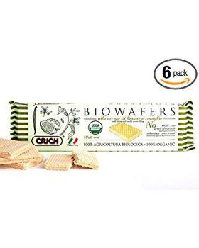 BioWafers a la Crema de Limon y Vainilla 125 gr BIO