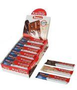 Chocolatinas con leche 30grs s/a sin gluten.