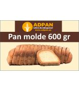Pan molde Familiar 600gr ADPAN