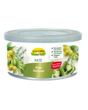 Pate de oliva verde 125 gr-GRANOVITA