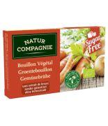 Caldo en Pastillas vegetal Sin Levadura 84gr BIO Natur compagne