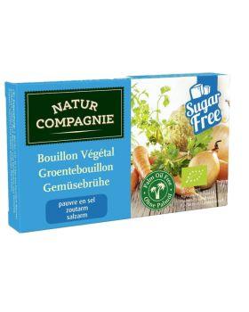 Caldo en Pastillas vegetal Bajo en Sal 68gr BIO NATUR - COMPGNE