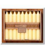 Bujias perfumadas:Bergamota caj 18 und