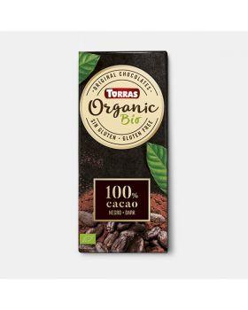 Chocolate BIO 100% Cacao 100gr TORRAS