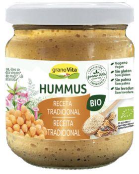 Pate hummus tradicional 175gr BIO GRANOVITA