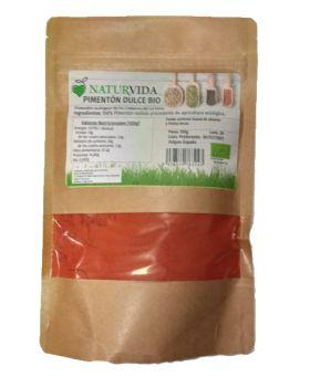 Pimenton Dulce Bio BIO 150 GR - NATURVIDA