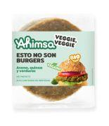 Burger Avena Quinoa y verduras 160gr BIO AHIMSA