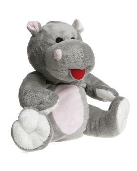 Hipopotamo Peluche 23x28x10 cm CHERRY BELLY