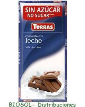Chocolates con leche S/A 75gr - TORRAS